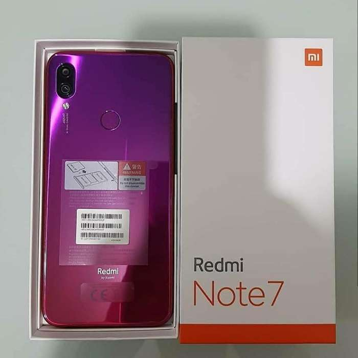 Xiaomi Note7 Rojo