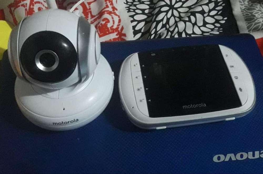 Monitor Y Camara para Bebe con Microfono