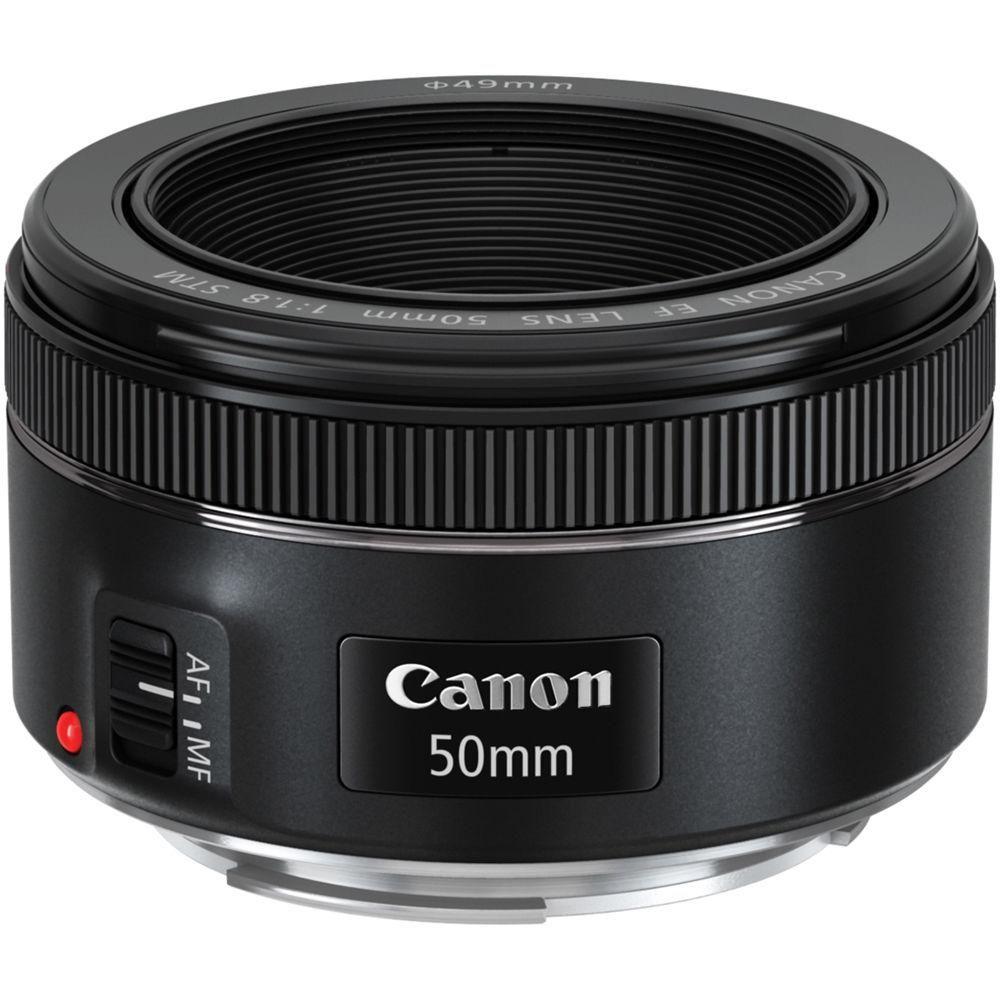 Lente CANON 50mm F1.8 el mas vendido !! para CANON T3 T3i T5 T5i T6 T6i T7i 80D 77D etc