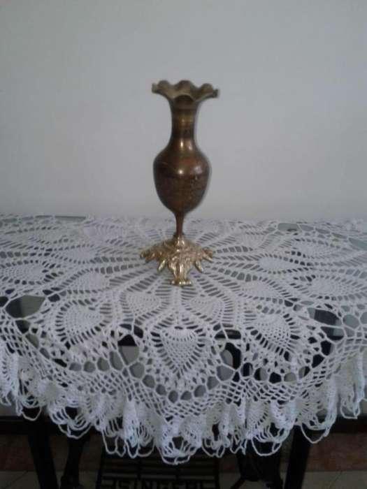 jarrón chino en bronce