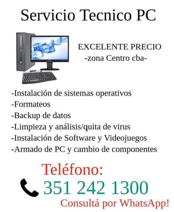 Servicio Técnico PC - EXCELENTE PRECIO