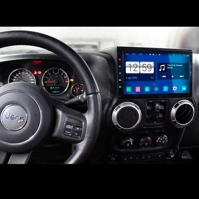 <strong>jeep</strong> WRANGLER ESTEREO CENTRAL MULTIMEDIA STEREO CON ANDROID, GPS, BLUETOOTH