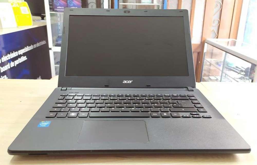 Portátil Acer en excelente estado, delgado, liviano y con garantia