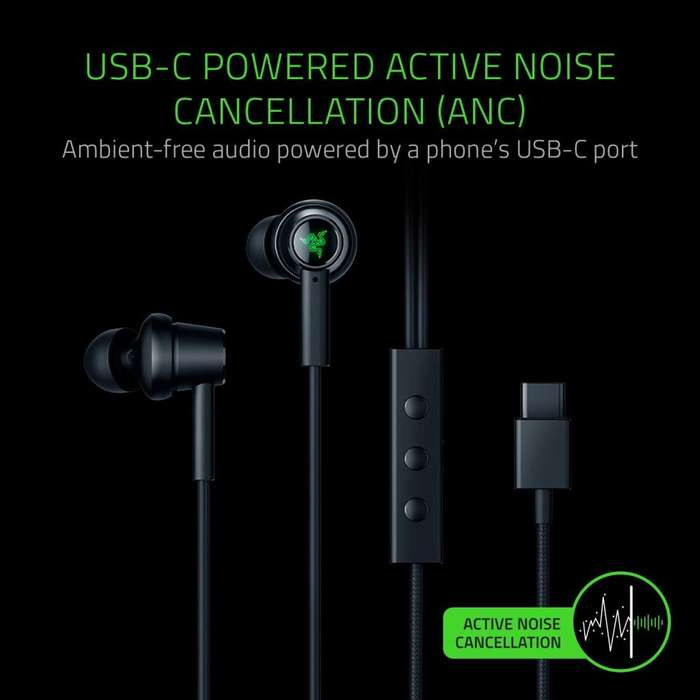 Razer Hammerhead USB-C Active Noise Cancellation