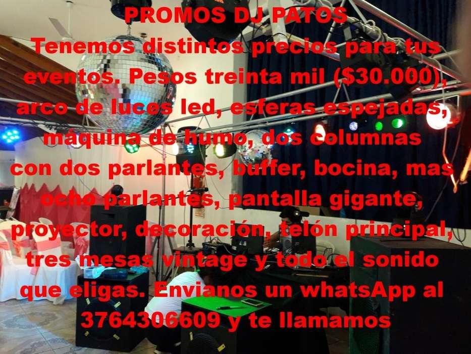 PROMO DE DJ PATOS