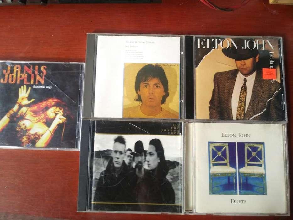 Cds Originales Pop Elton Jhon Janis Jopl