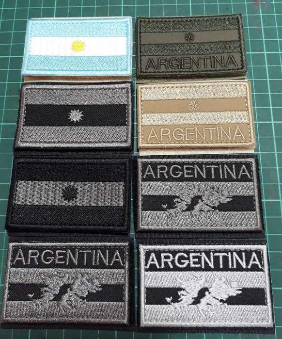 Parches Banderas en varios formatos
