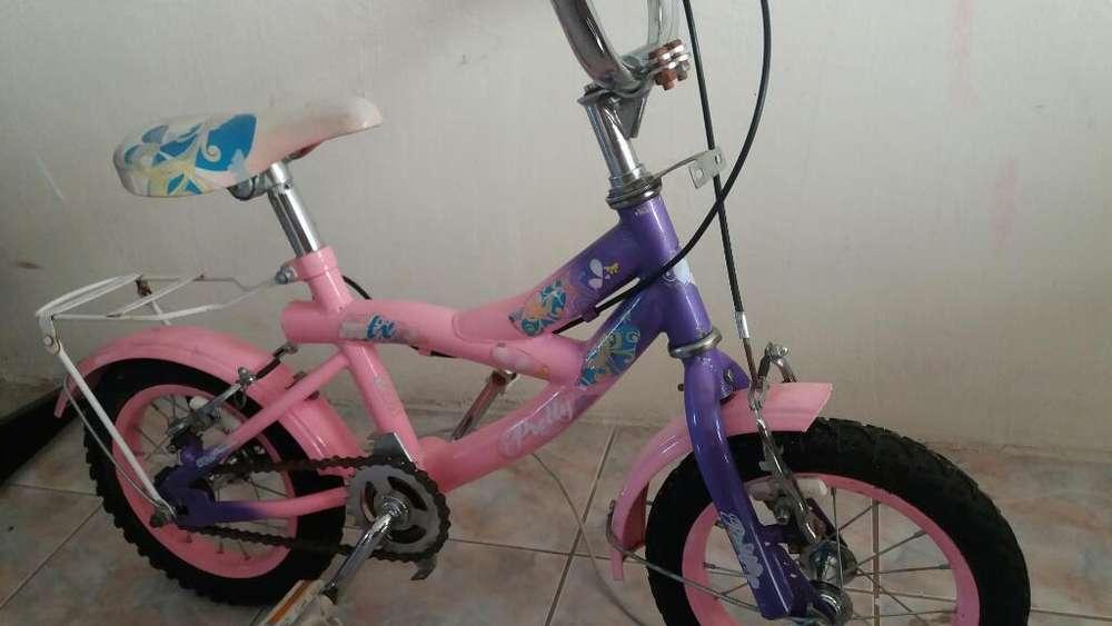 Bicicleta Aro 12 Niña