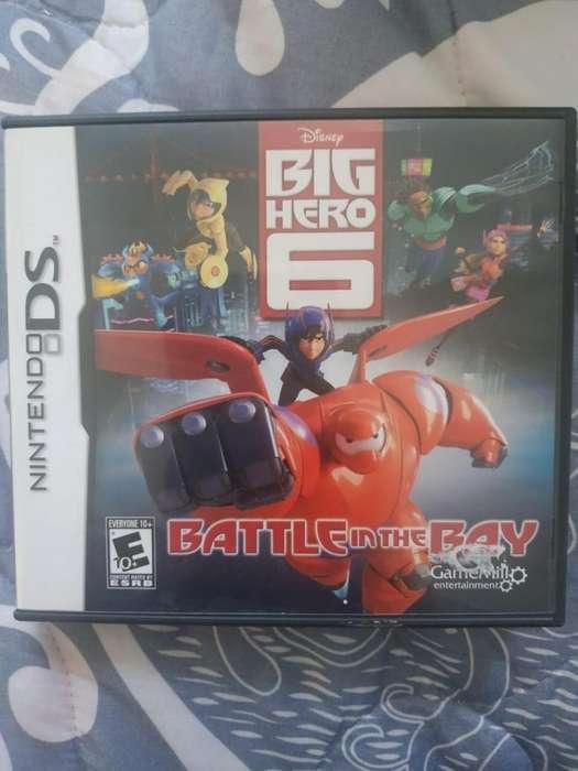 JUEGO NINTENDO DS BIG HERO 6