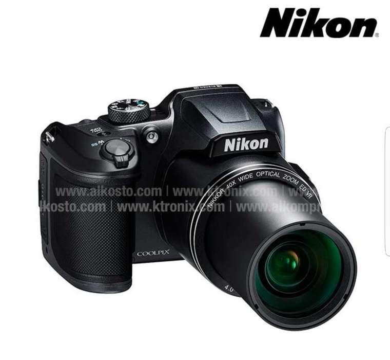 Camara Semiprofesional Nikon Colpix B500