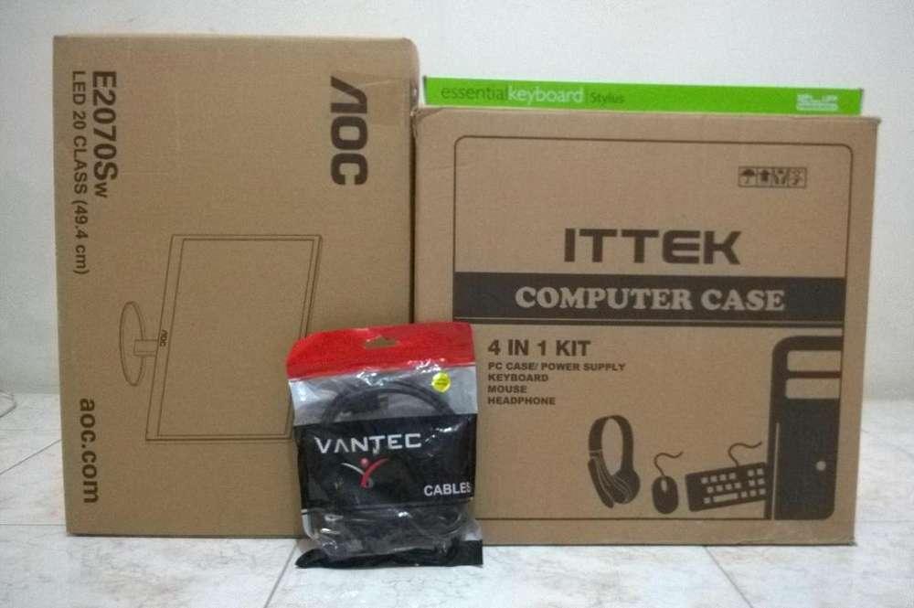 Computadora completa CORE 2 QUAD, mejor que un i3 3ra generación lista para casa u oficina
