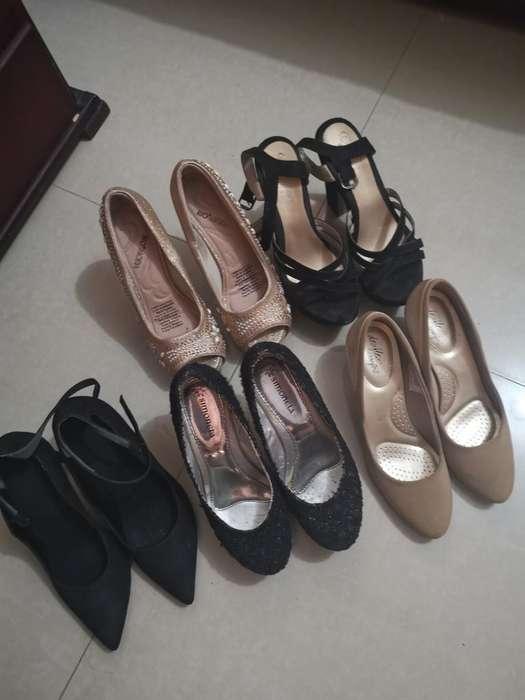Zapatos Usados Talla 7 Todo en Combo