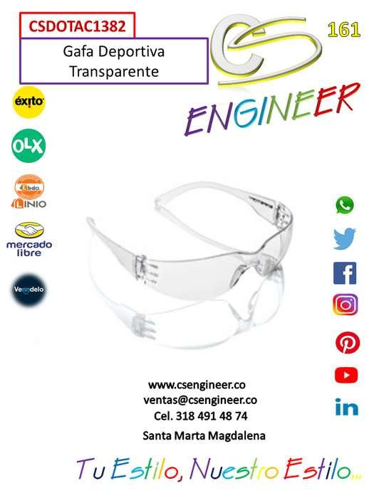 CS ENGINEER - Gafas Deportiva Transparente