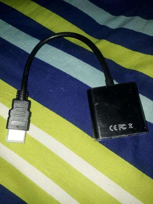 Cable Convertidor Hdmi a Vga