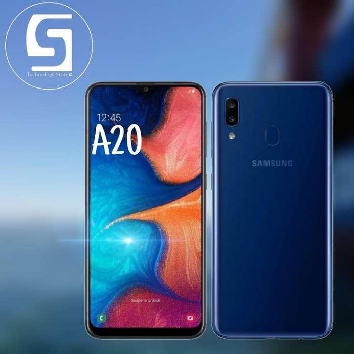 Celular Samsung A20 de 32gb