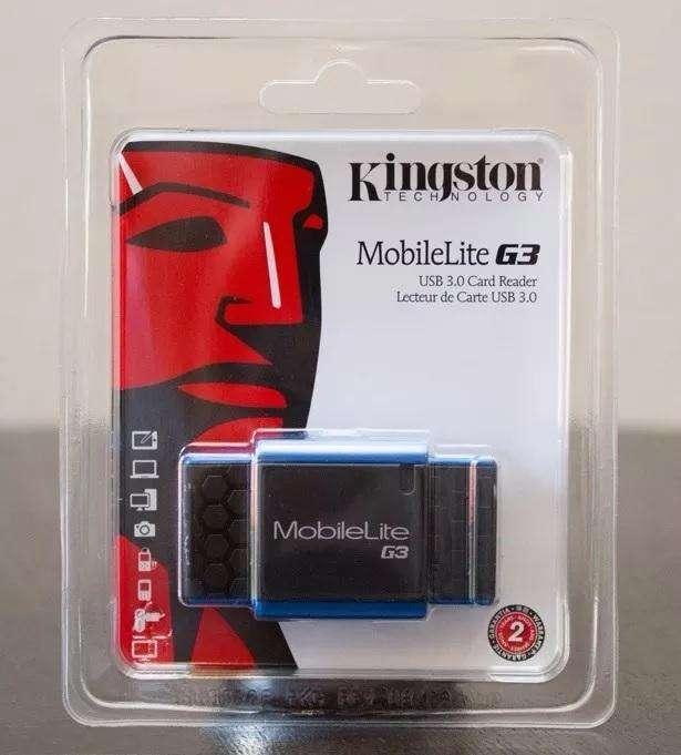 Lector Tarjetas Kingston Usb 3.0 7en1 Sdhc Microsd Microsdxc
