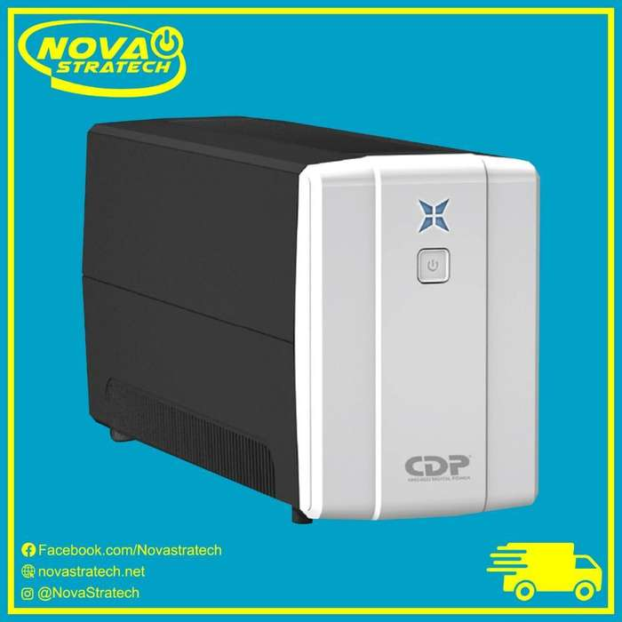 Ups Regulador de Voltaje Cdp 1000va/500w 8 Tomas 120V Nuevo de Oferta Barato