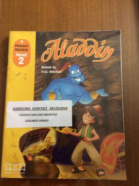 Aladdin,texto en ingles,level 2