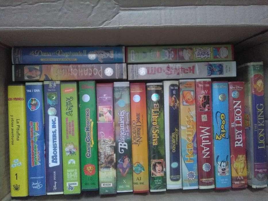 Peliculas de Disney Vhs