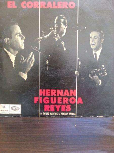 LP HERNAN Figueroa Reyes Vinilo Años 70