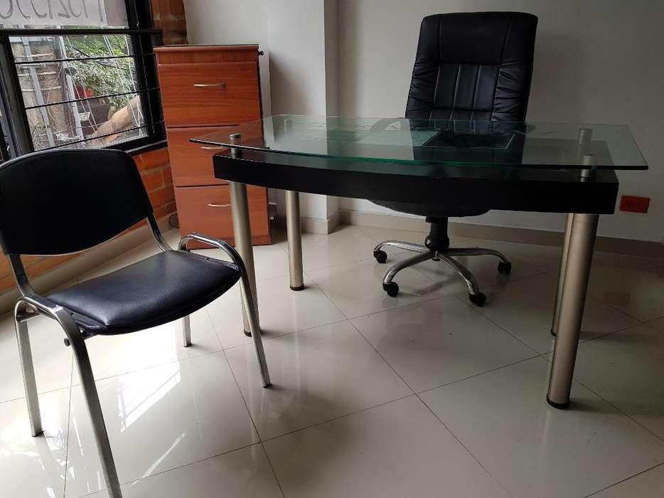 <strong>escritorio</strong>, Archivador Y Silla