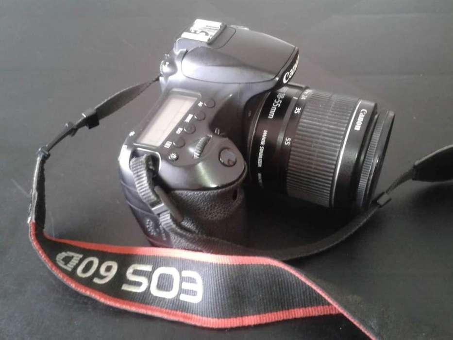 Vendo canon 60D