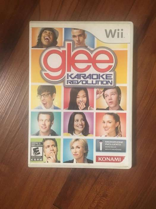 Glee! Juego Wii