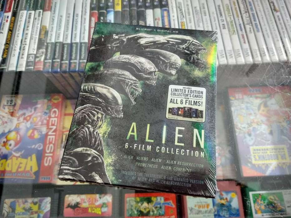 ALIEN pack de coleccion en bluray