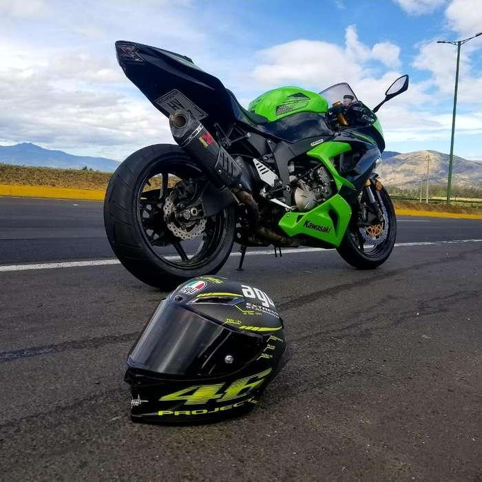 Vendo Espectacular Kawasaki Zx6r 2013