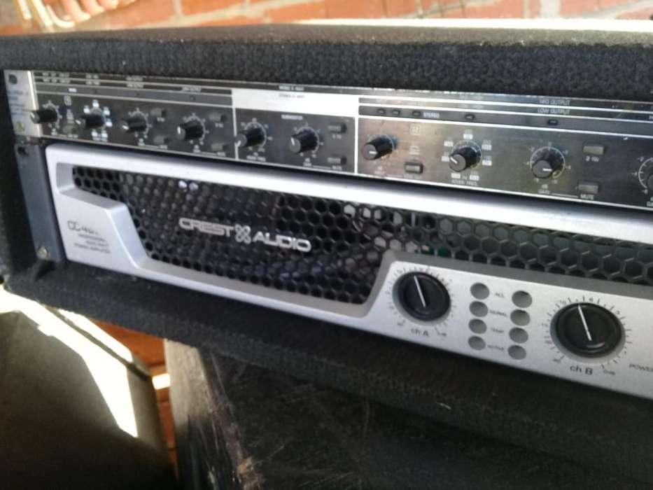 Crest audio cc4000