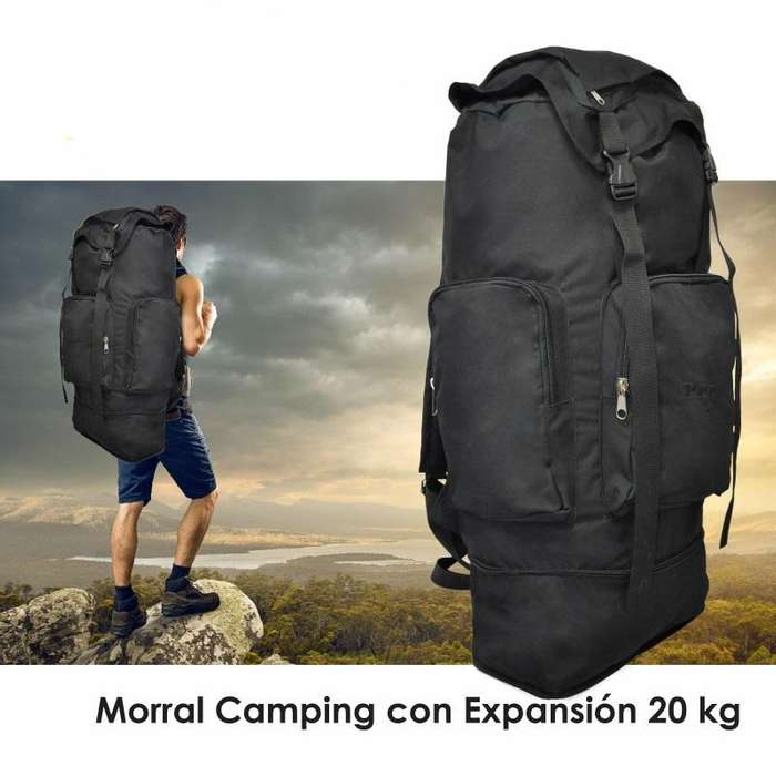 Morral Camping Expandible 20 kg