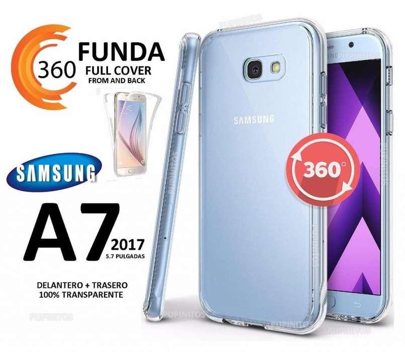 Funda 360º Protección Completa Del Celular Samsung A7 2017