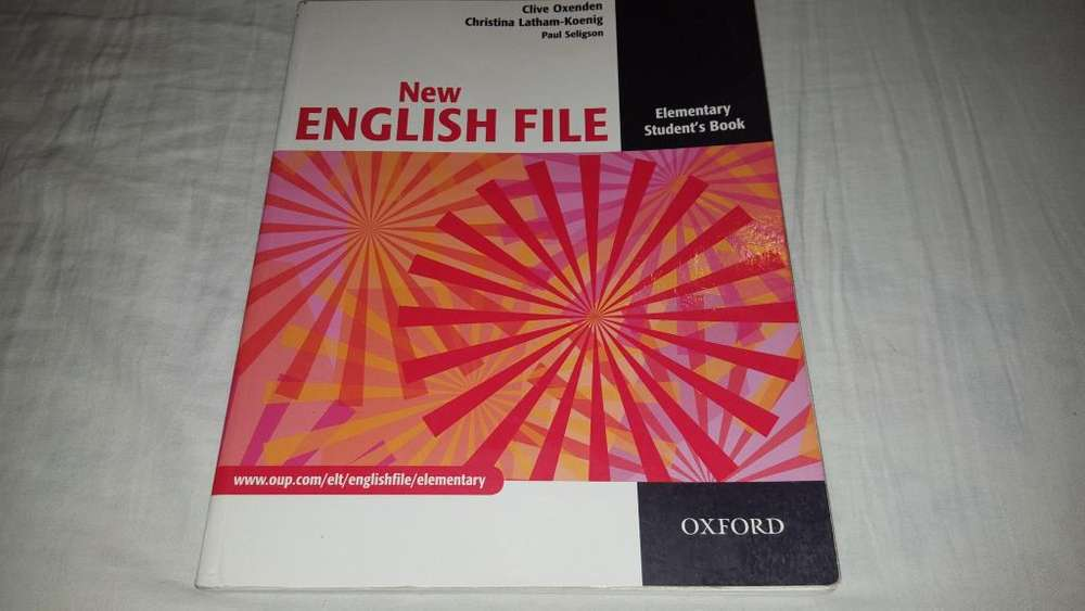 New English File Elementary Students Book Oxford
