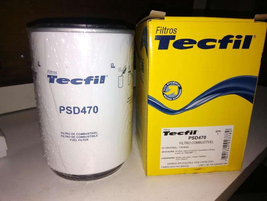 Filtro De Gasoil Tecfil Psd470 mann Wk 1060/3x