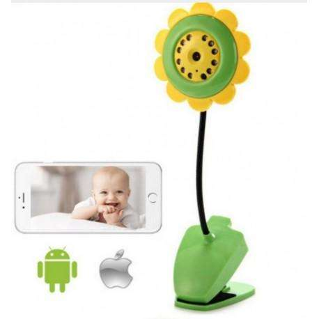 Camara Ip Baby Night Flower