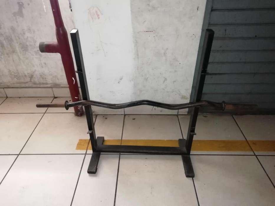 barraz y porta barras de gimnasio en oferta
