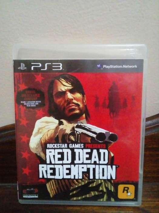 Juego de ps3 Red dead redemption ps3 con mapa y manual