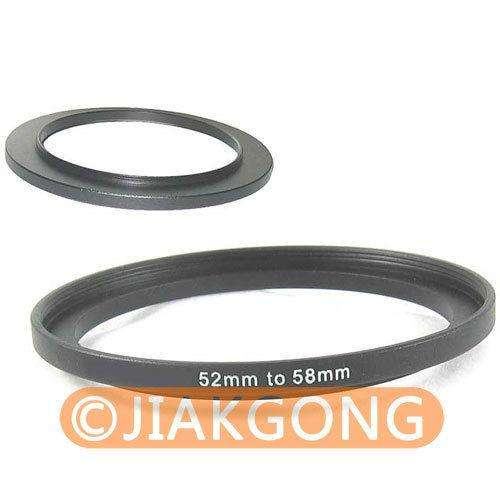 Filtro Step up de 52mm58mm
