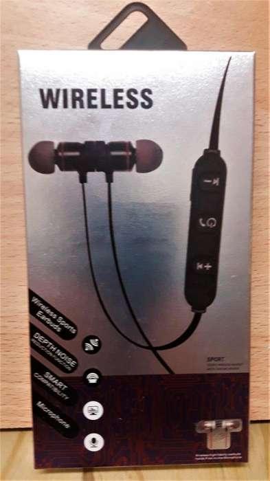 Auriculares Manos libres Inear BLUETOOTH control de llamadas Unuversales