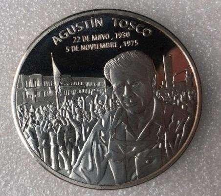 Medalla conmemorativa al CORDOBAZO (1969-2019) 40mm bañada en Plata