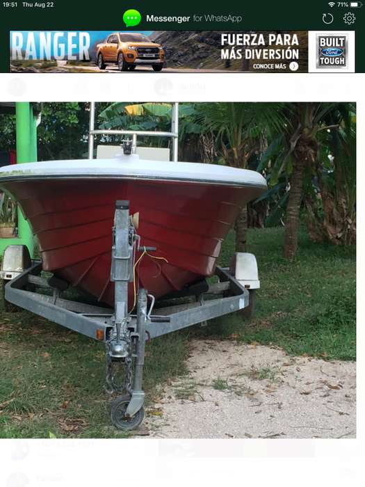 VENDO BOTE 18 pies DEEP-V