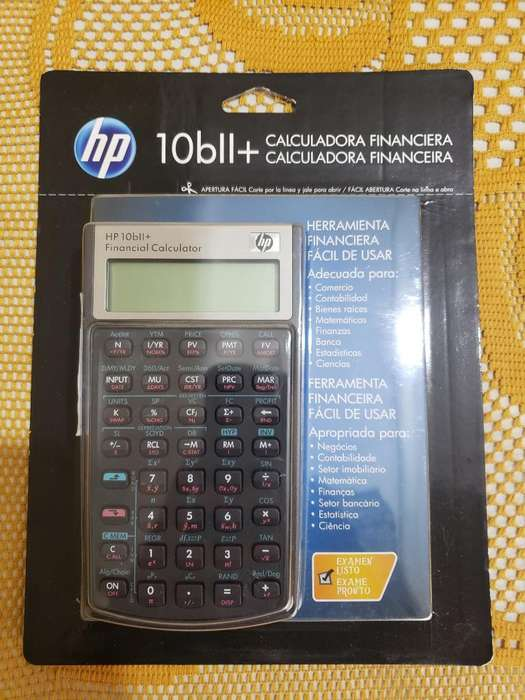 <strong>calculadora</strong> Financiera Hp 10bii