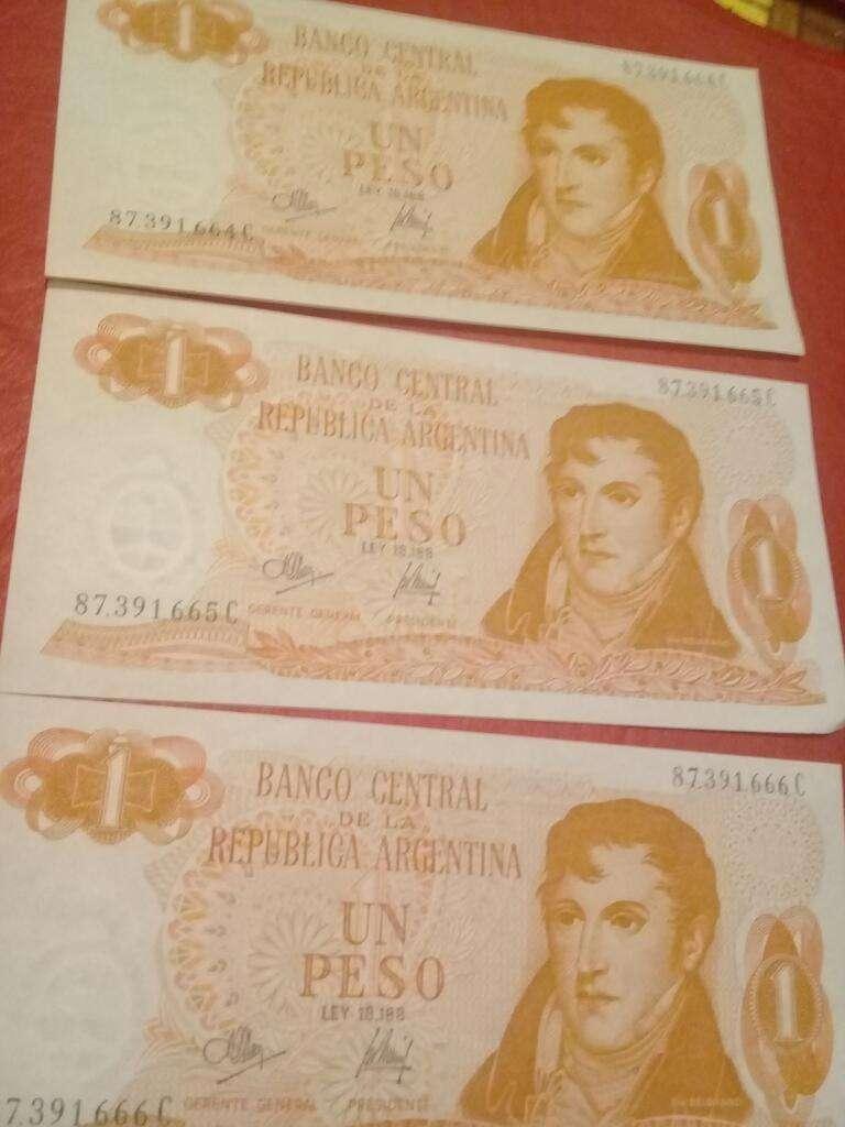 Billetes Argentinos Ley 18188