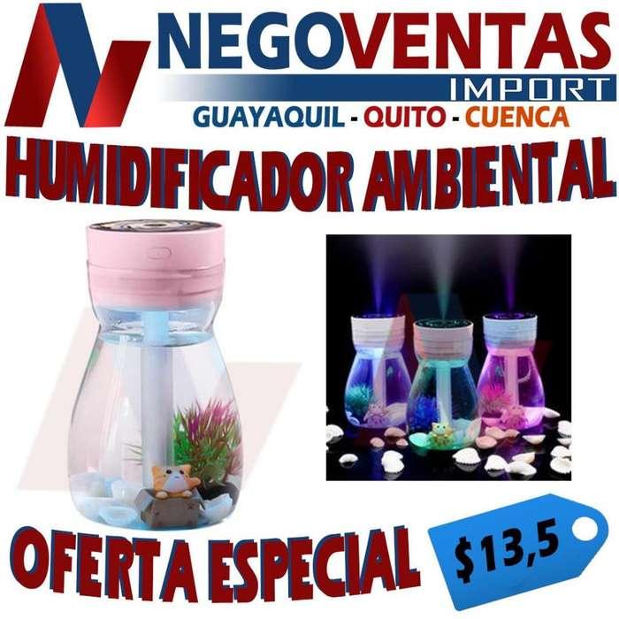 HUMIDIFICADOR TIPO FOCO AMBIENTAL DE CASA DE OFERTA