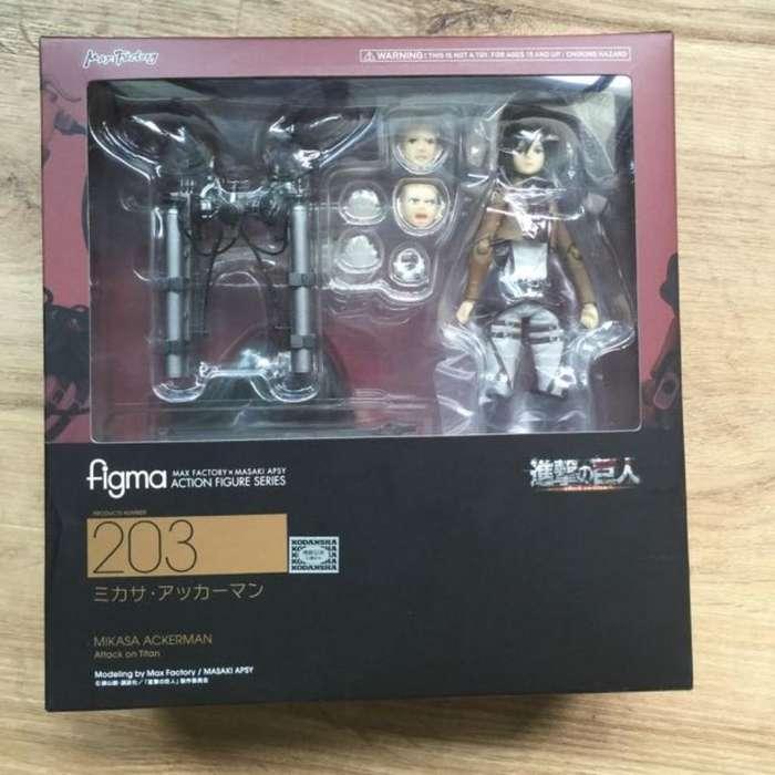 Figura Mikasa Figma - Shingeki No Kiojin