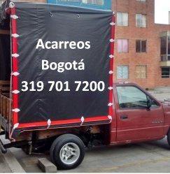 Acarreos y mudanzas Bogotá 319 701 7200