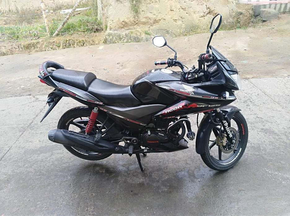 Vendo Moto Cbf 125 Honda