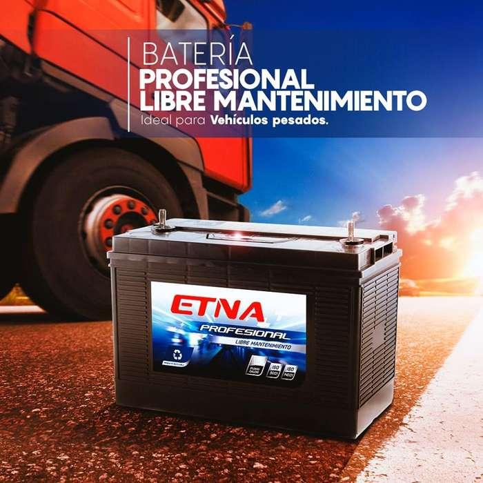 Batería Etna Profesional - Libre mantenimiento