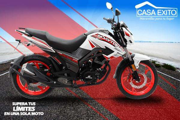 Moto Daytona Dy200 Wing Evo 200cc Año 2019 Color Blanco / Rojo Casa Éxito