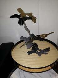 Escultura en Lamina Hr.